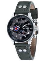 Ceas: Ceas barbatesc AVI-8 AV-4011-0A Hawker Hurricane Chrono 42mm 5ATM