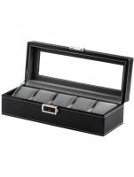 Ceas: Rothenschild watch box RS-1679-5BK for 5 watches black