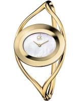 Ceas: Ceas de dama Calvin Klein K1A2391G ( SWISS MADE - Cadran Perla )  35mm 3ATM