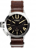 Ceas: Ceas barbatesc U-Boat 8105 Classico U-47 Automat Negru 47mm 100M