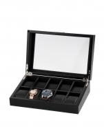 Ceas: Rothenschild Uhrenbox RS-2375-10OAK für 10 Uhren schwarz