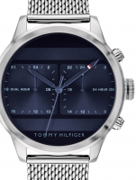 Ceas: Ceas barbatesc Tommy Hilfiger 1791596 Dual Time  44mm 5ATM