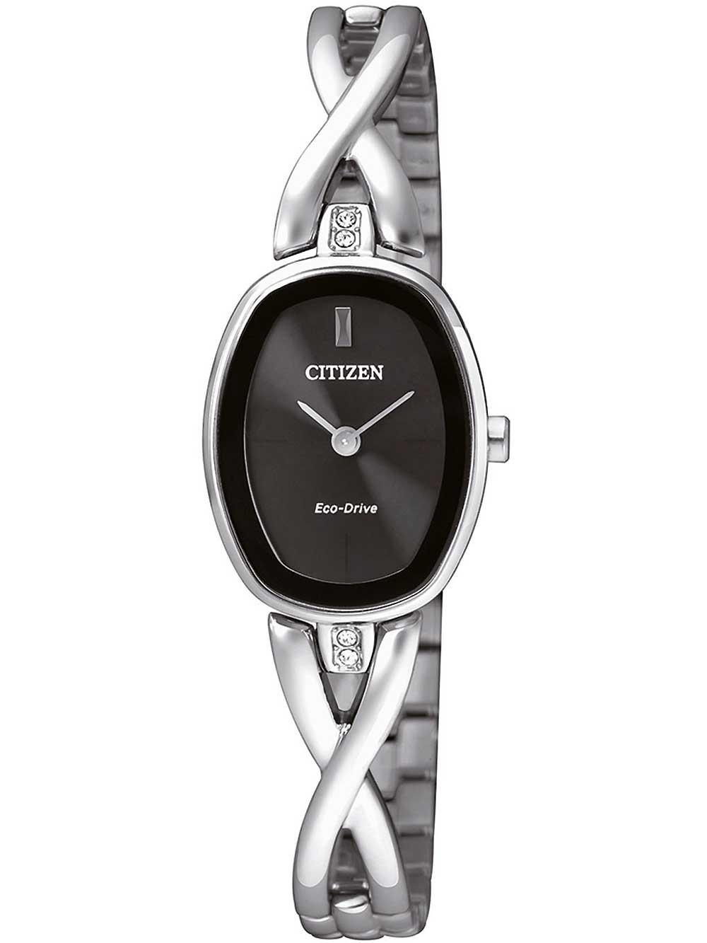 montres chrono12 citizen ex1410 88e elegant eco drive damen 18mm 3atm. Black Bedroom Furniture Sets. Home Design Ideas
