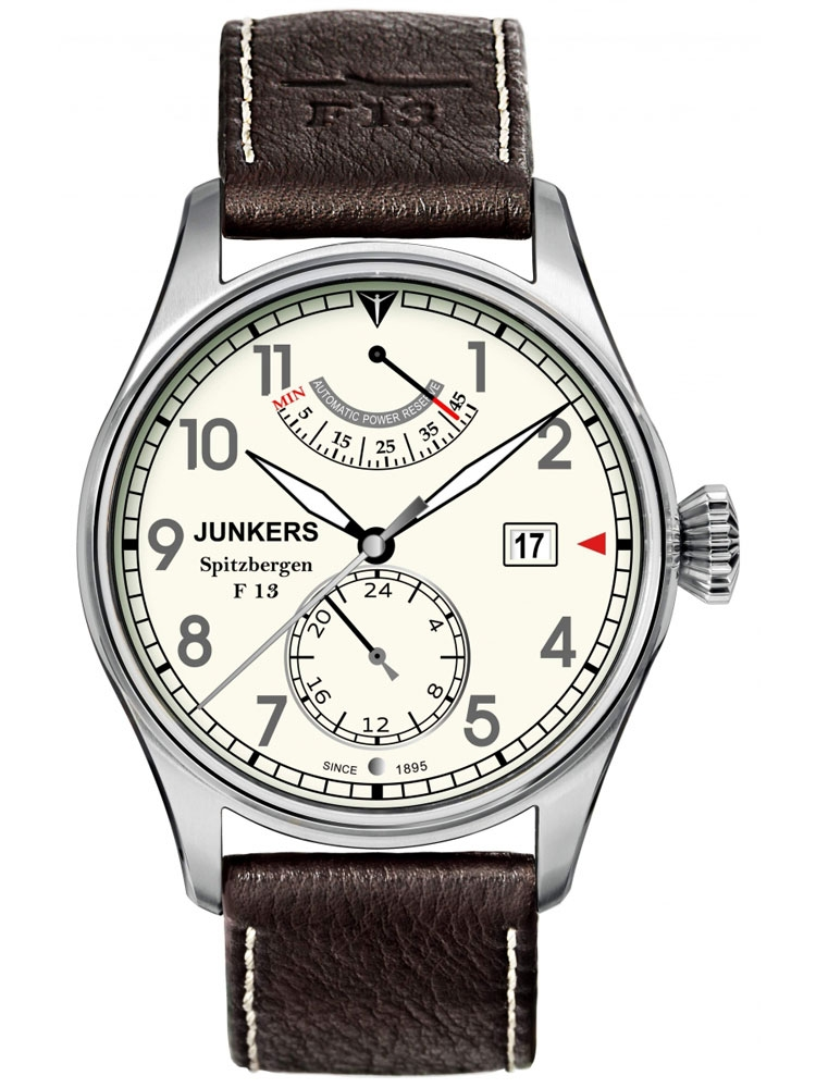 Junkers Spitzbergen F13 6160-5 Automatic Ceas Barbatesc Titanium