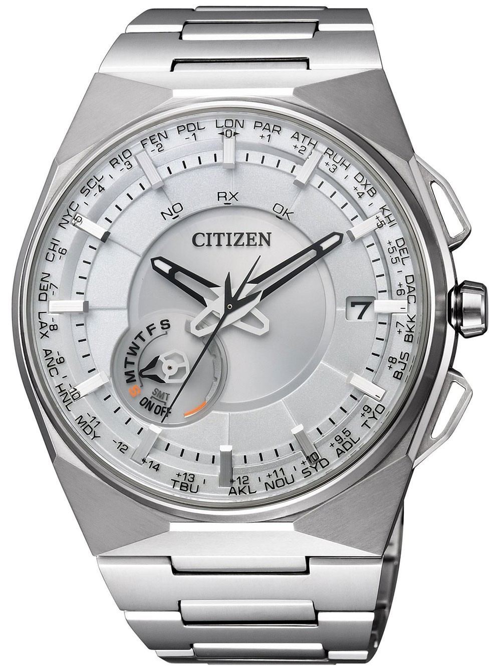 Citizen Eco-Drive Satellite Time System CC2001-57A 48 mm 100M