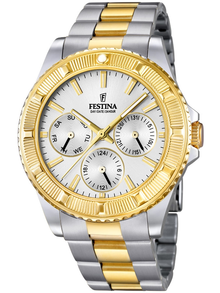 Festina Vendome F16691/1 Femei Multifunction bicolor 40 mm