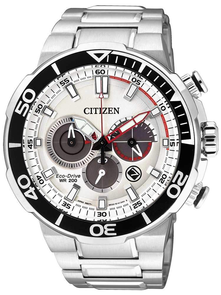 Citizen Eco-Drive Sports CA4250-54A Chronograph 46mm 20ATM
