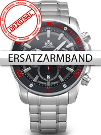 Rothenschild Stahl-Ersatzband für RS-1403-AS-BKRD u. RS-1403-AS-BK