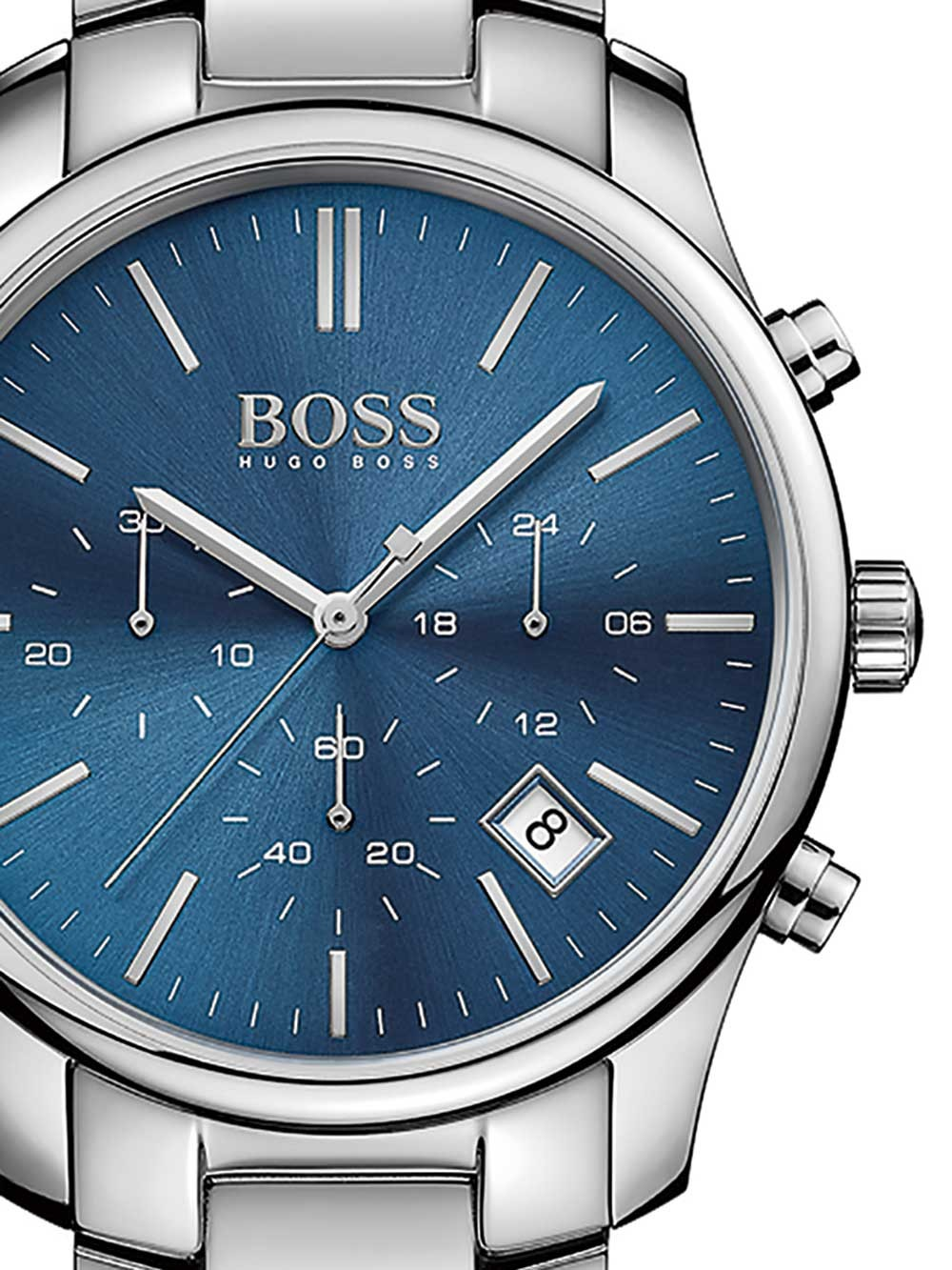 uhren chrono12 hugo boss 1513434 time one chronograph. Black Bedroom Furniture Sets. Home Design Ideas