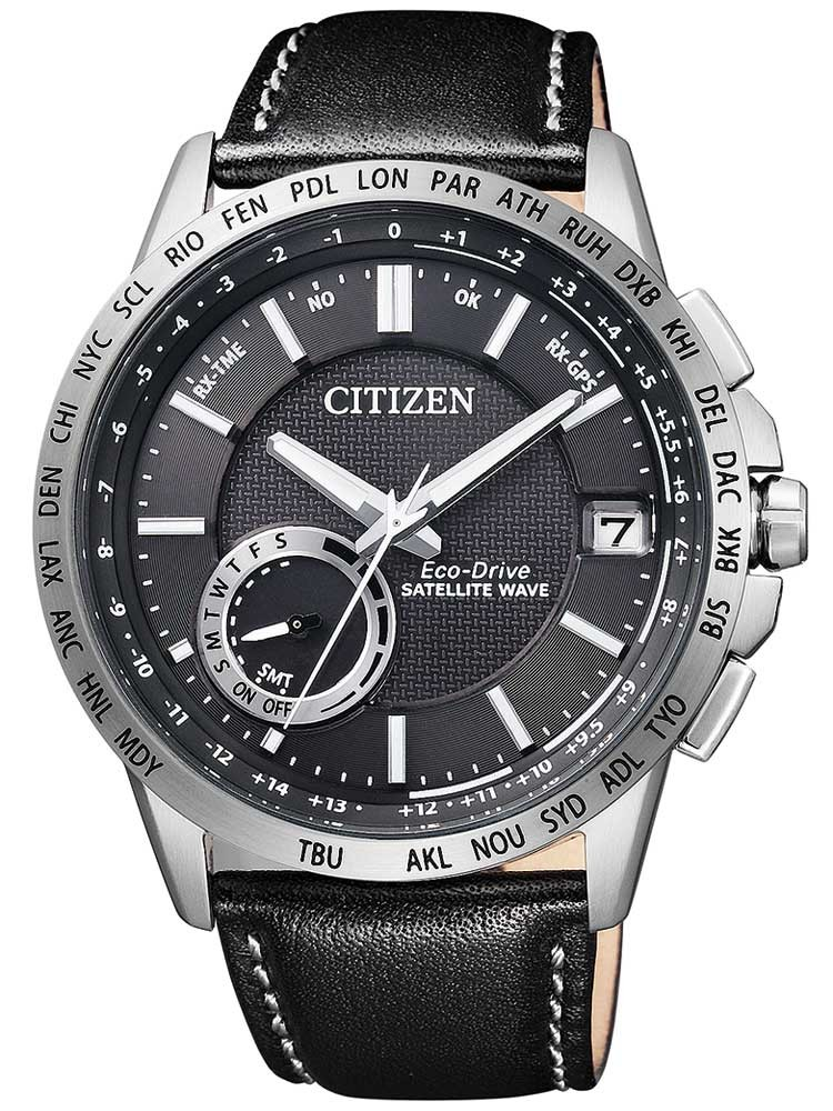 Citizen Eco-Drive Satellite Wave CC3000-03E Herren 43mm 10ATM