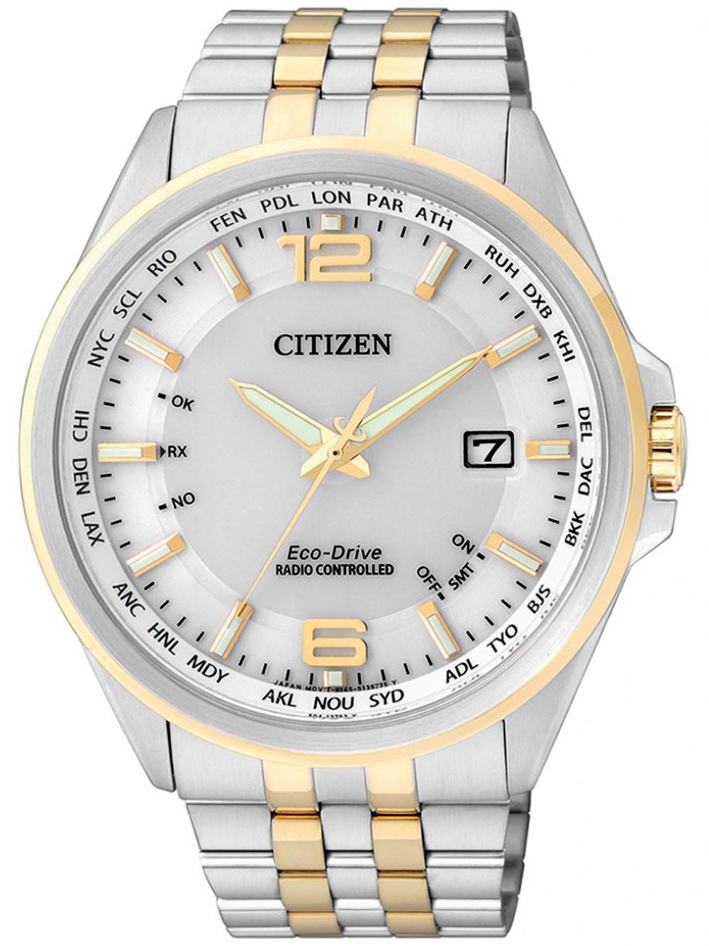 Citizen Eco-Drive Elegant CB0016-57A 4-Zonen Funkuhr 43 mm 100M